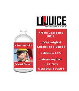 Concentré Colonel Custard T-Juice - 30mL