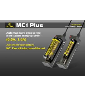 Chargeur accu Xtar MC1 Plus