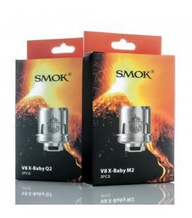 Résistance TFV8 X-Baby Smoktech M2, Q2 et X4