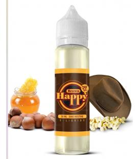 Brown - Happy 50ML E-liquide ZHC