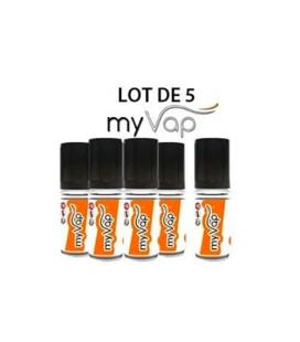 Fruits des bois MyVap - 10 ml Lot de 5 e-liquides
