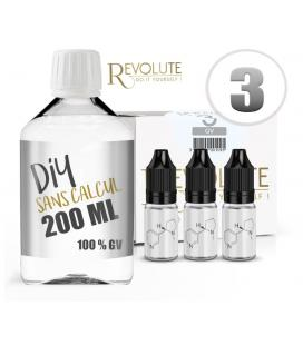 Pack Diy Base 100% VG Revolute 200ml