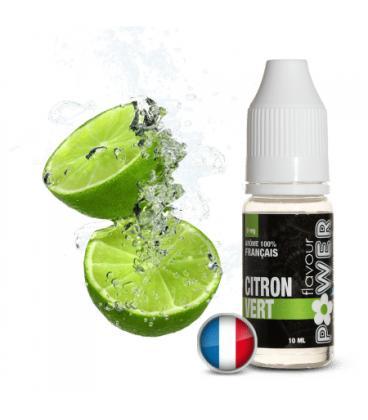 Citron Vert Flavour Power 50/50 - 10 ml Lot de 5 liquides