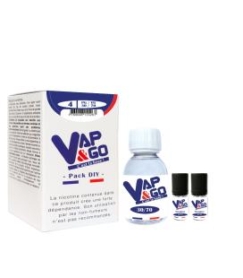 Pack Diy Base Vap&Go 100ML 30/70