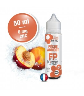 Pêche Abricot 50/50 Flavour Power 50 ml ZHC