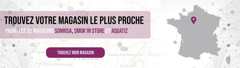 Trouvez votre boutique en France