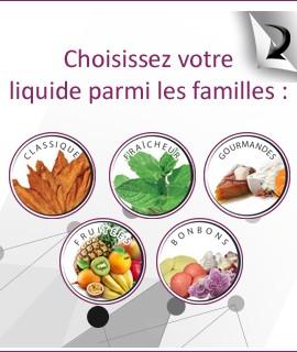 Recherchez votre E-liquide selon votre saveur !