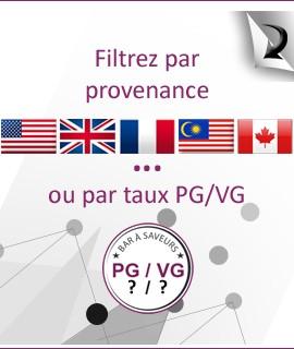 Choisissez selon la provenance ou le taux de PG/VG